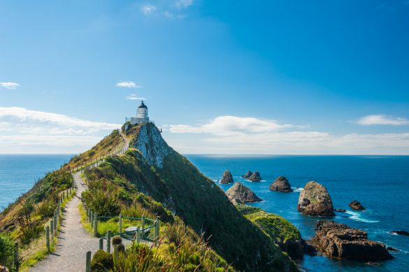 Lighthouse on Nugget Point